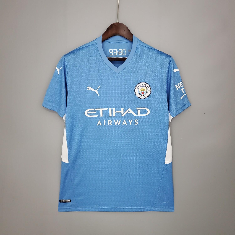 Camisa Manchester City Home 2021-2022 PUMA