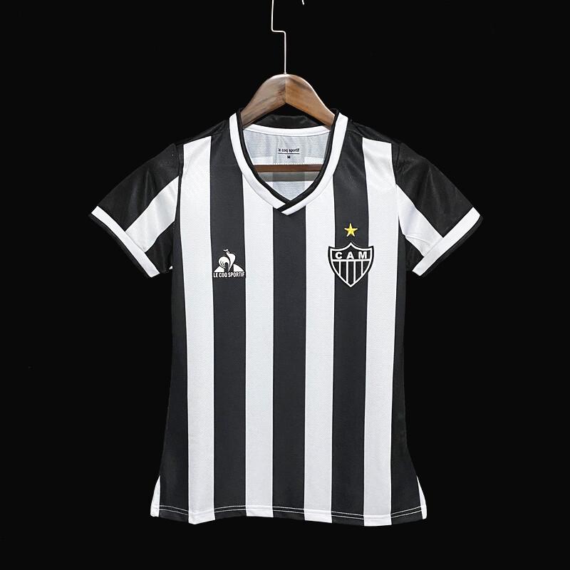 Camisa Le Coq Sportif Atlético Mineiro I 2021 Feminina