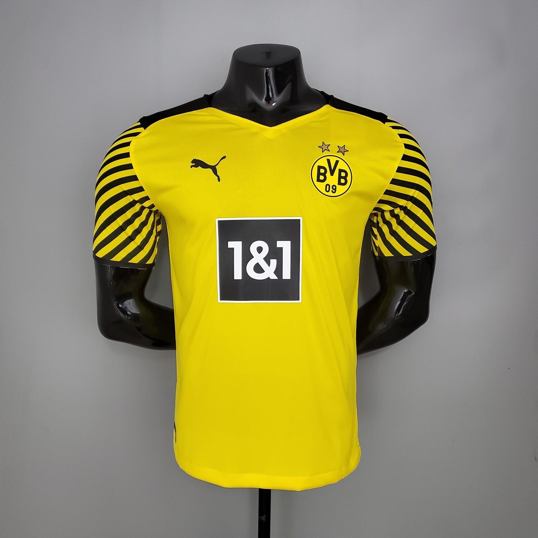 Camisa Borussia Dortmund Home 2021/2022 Jogador Puma Masculina