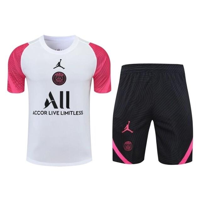 Conjunto PSG Jordan II 2021/2022 - Manga Curta