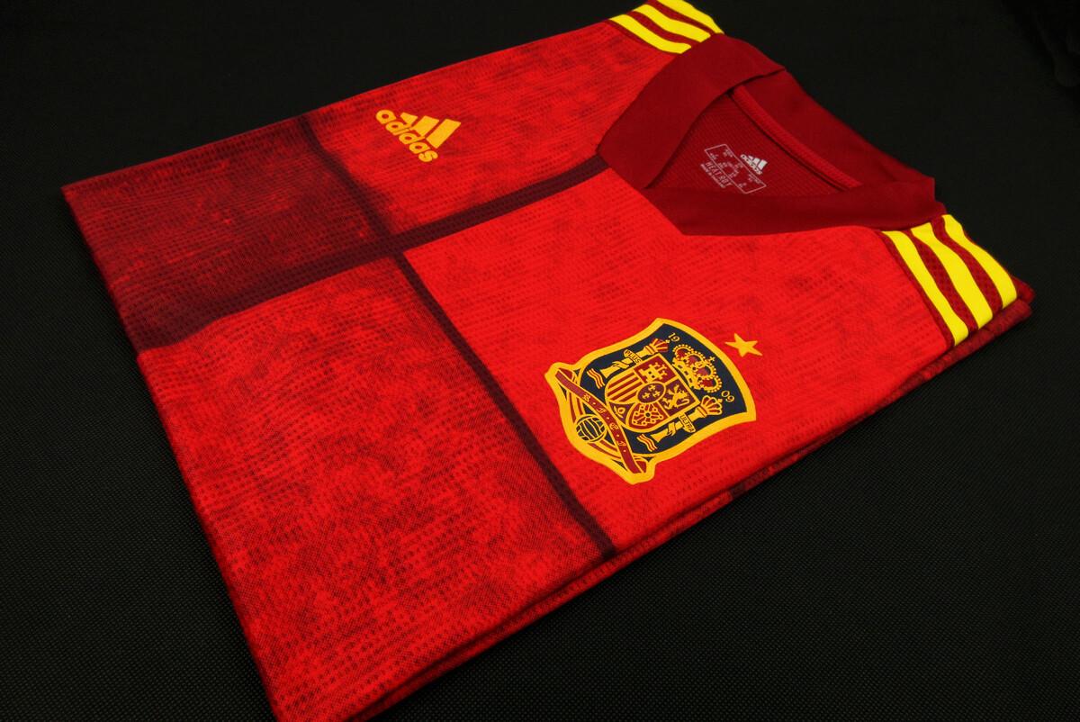 Camisa Espanha Home   2020/2021  Adidas Versão Jogador