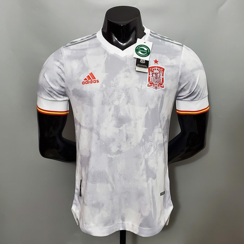 Camisa Espanha Away  2020/2021  Adidas Versão Jogador