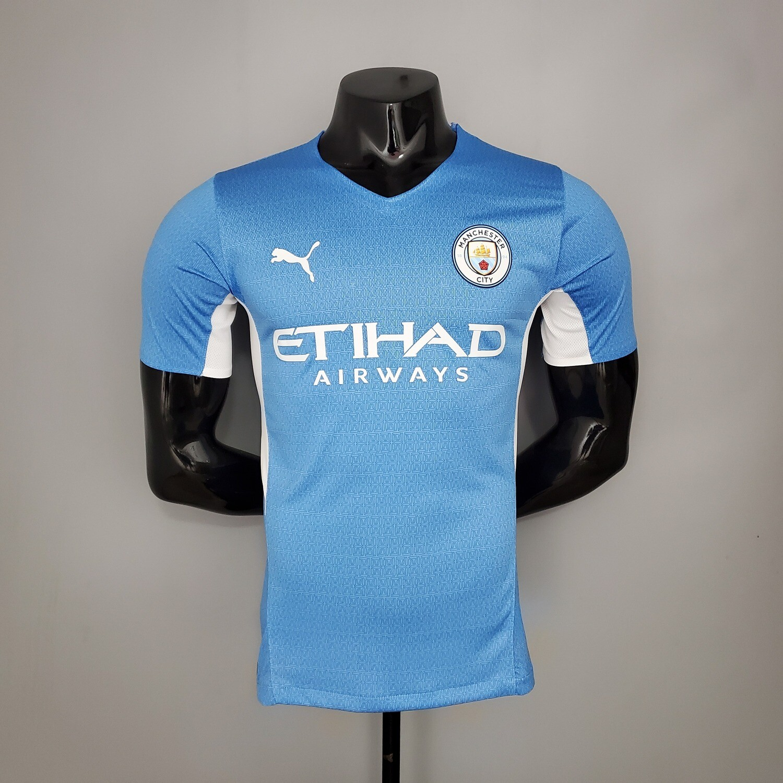 Camisa  Manchester City 2021-2022 PUMA Jogador
