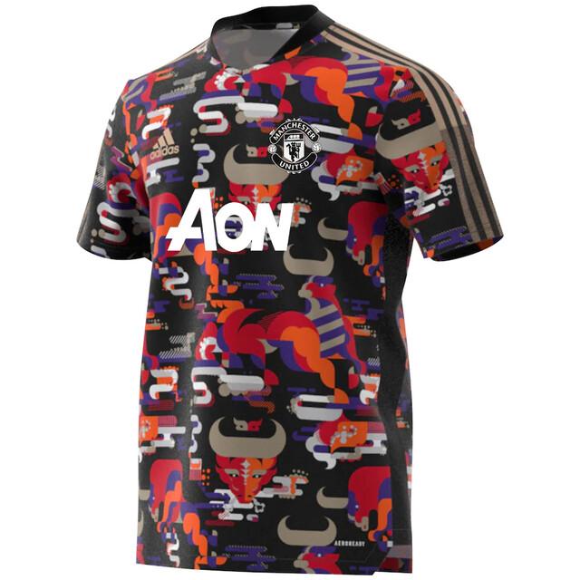 Camisa Manchester United Ano Novo Chinês 2021 Adidas