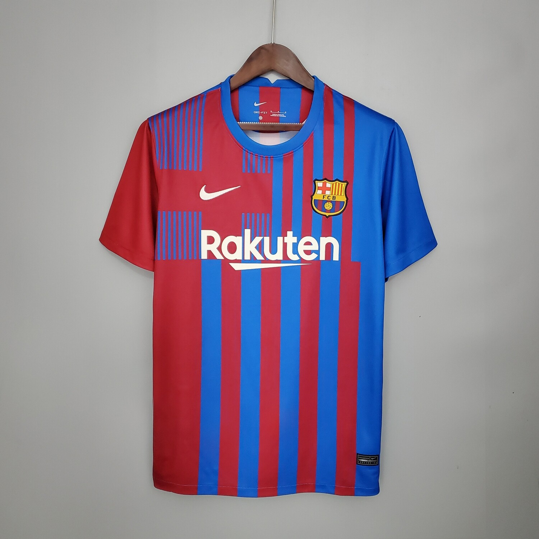 Camisa  Barcelona 2021/2022 Nike Torcedor Uniforme 1