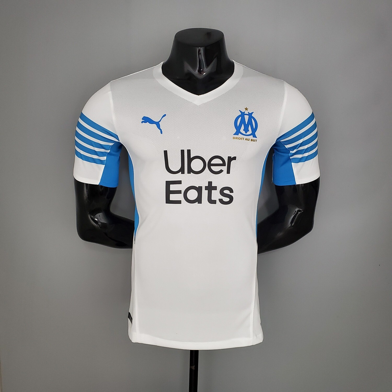 Camisa Home Olympique de Marseille Jogador