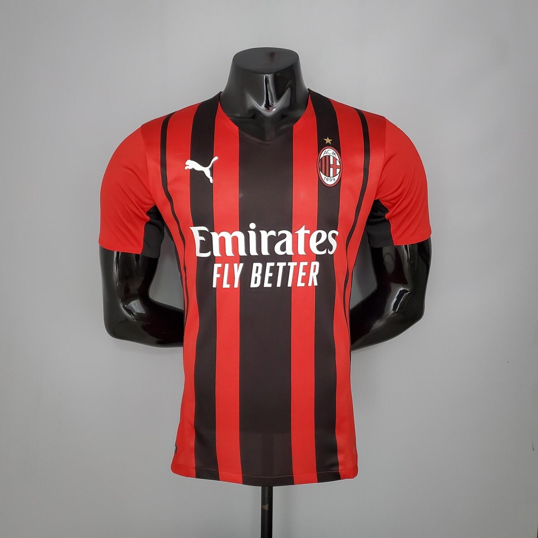 Camisa Milan Home I 2021/2022-Jogador