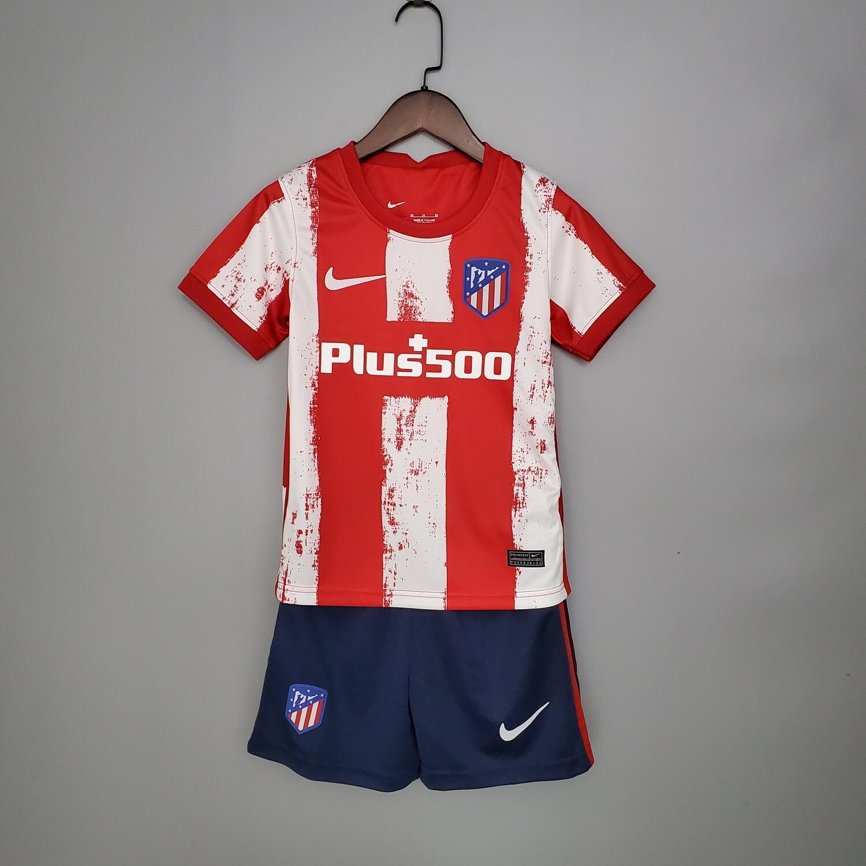 Camisa Atlético de Madrid 2021-2022 Nike Infantil
