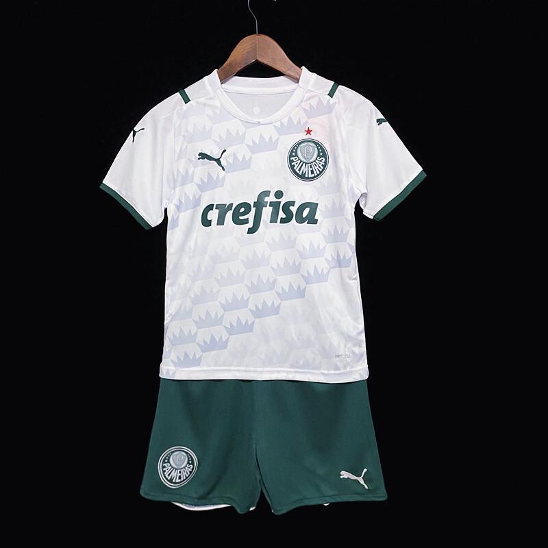 Camisa Palmeiras Infantil 2021 Jogo 2