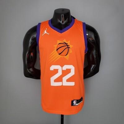 Regata NBA Phoenix Suns Purple - AYTON # 22 ordan Theme Orange 2021