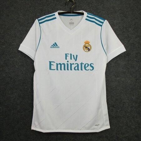Camisa Real Madrid 2017-2018 Uniforme 1