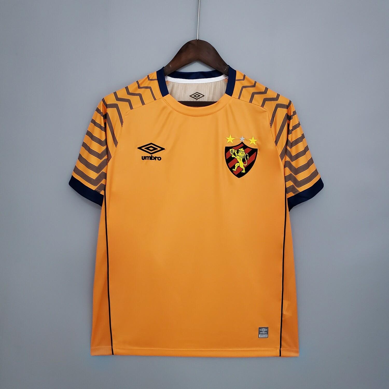 Camisa Umbro Sport Recife Goleiro 2021 Laranja