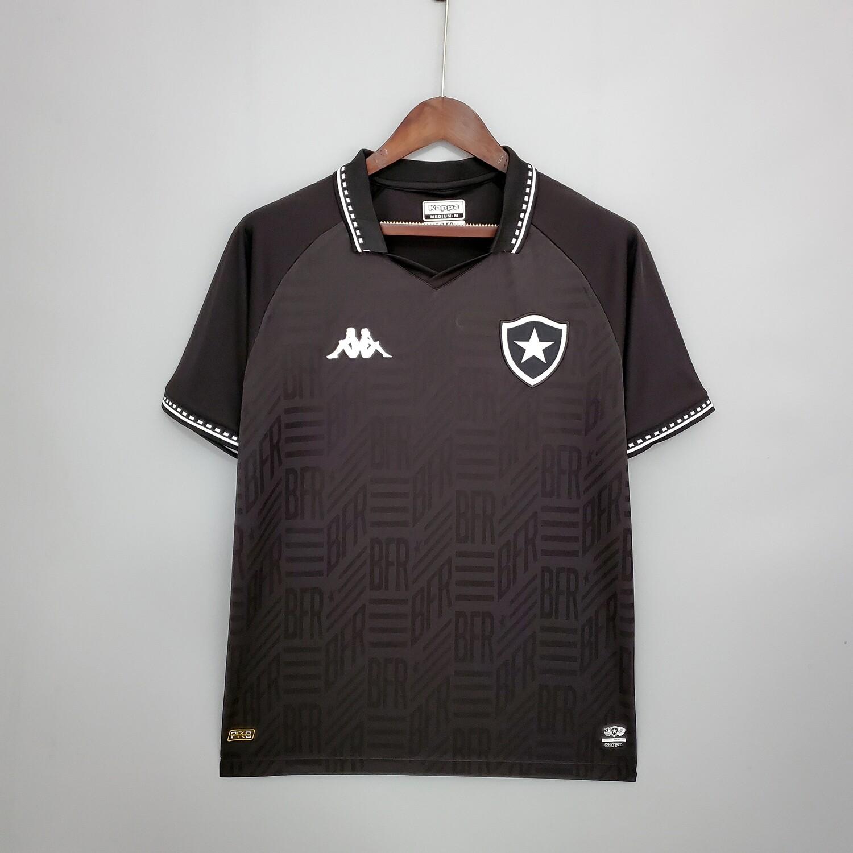 Camisa Botafogo II 21/22  Torcedor Kappa Masculina - Preto