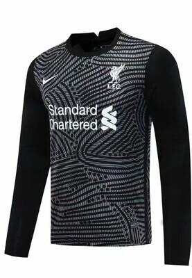 Camisa Liverpool  Nike Goleiro  - Masculina Manga Longa 2020/2021 Preto