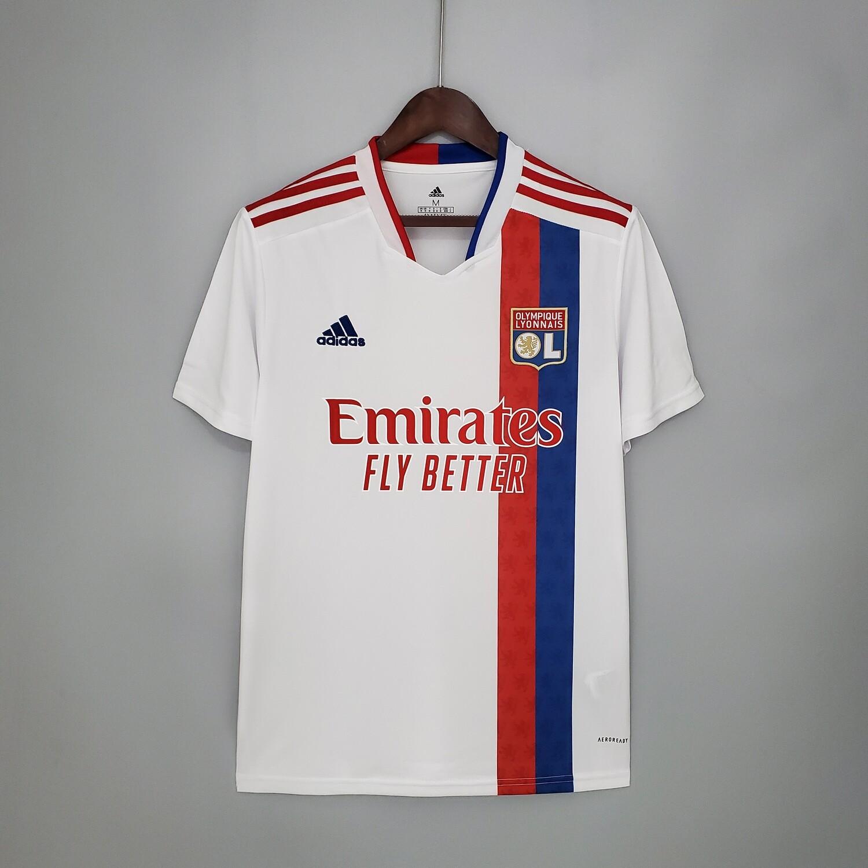 Camisa  Olympique Lyon 2021-2022 Adidas