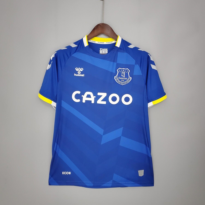 Camisa Everton FC Home 2021-2022 Hummel