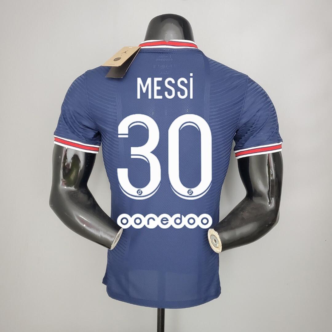 Camisa  PSG Home 2021/2022 Jogador Messi #30