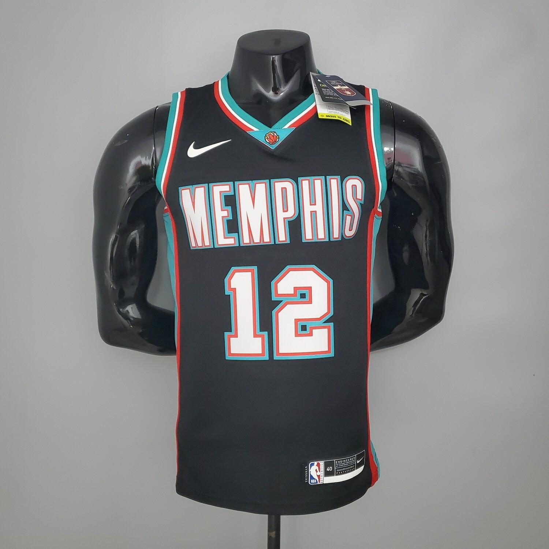 Regata Memphis Grizzlies Retro Black - Morant #12