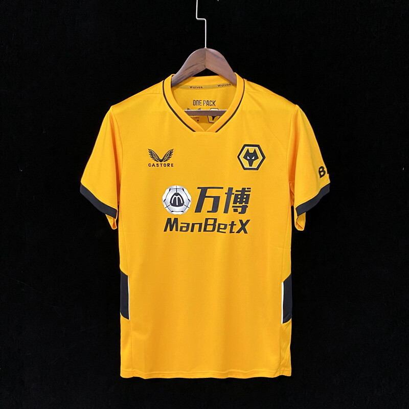 Camisa Wolverhampton 2021-2022 Castore