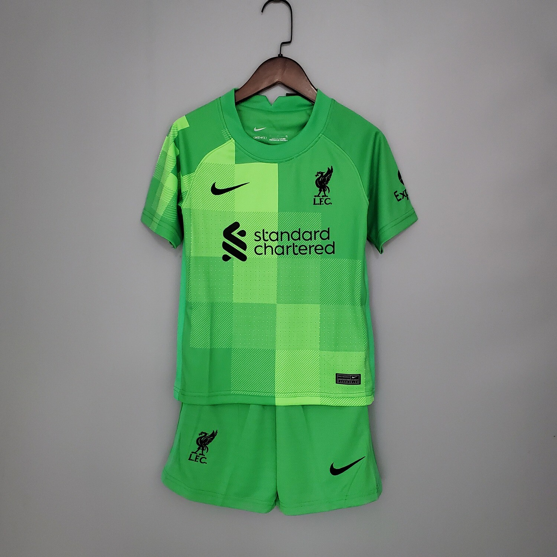 Camisa Liverpool Nike Infantil 2021/2022 Goleiro