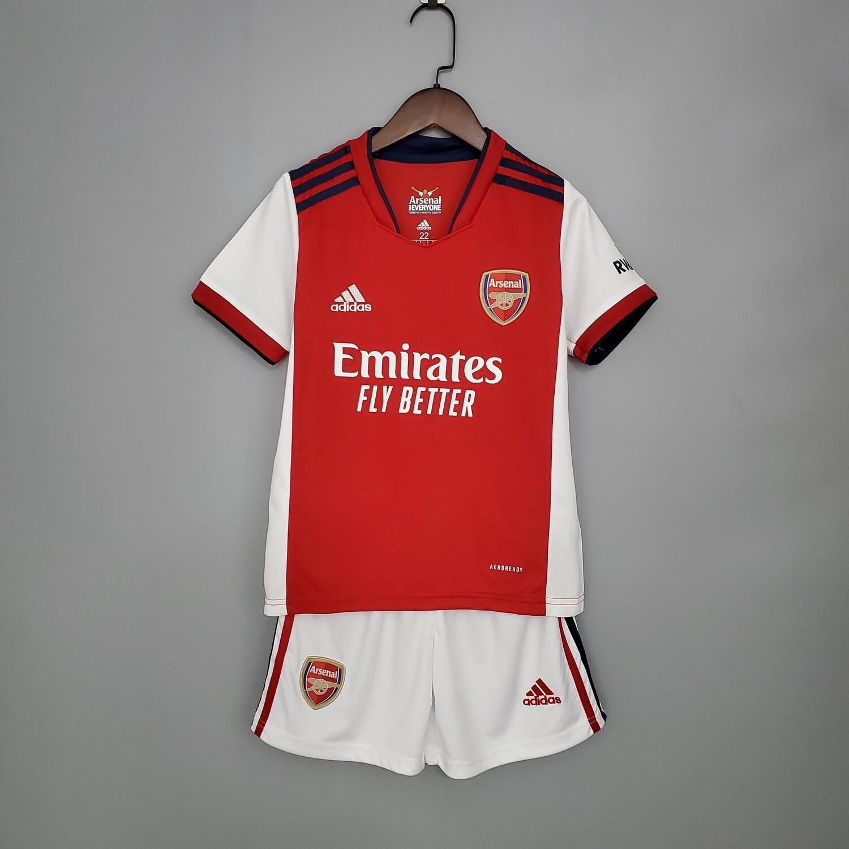 Camisa  Infantil Arsenal 2021/2022 Home