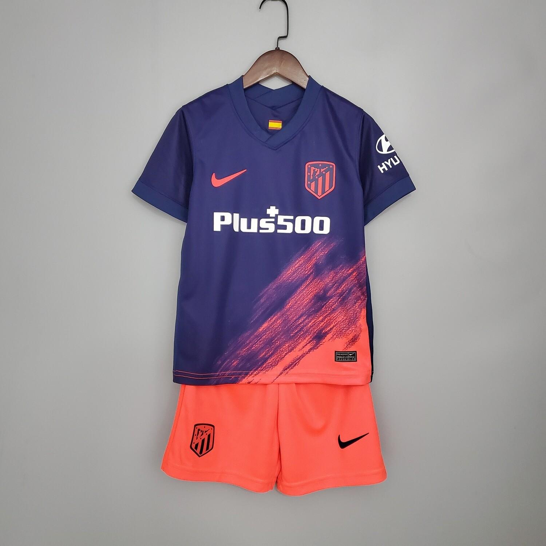 Camisa Atlético de Madrid 2021-2022 Nike Infantil away