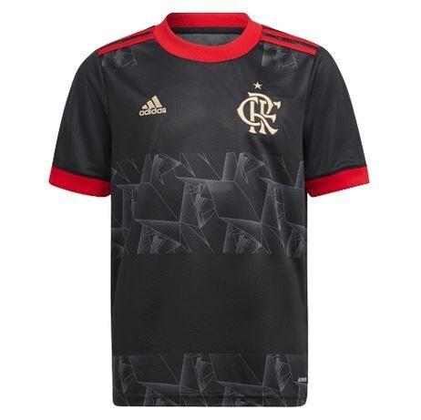 Camisa Flamengo Jogo 3 Adidas 2021