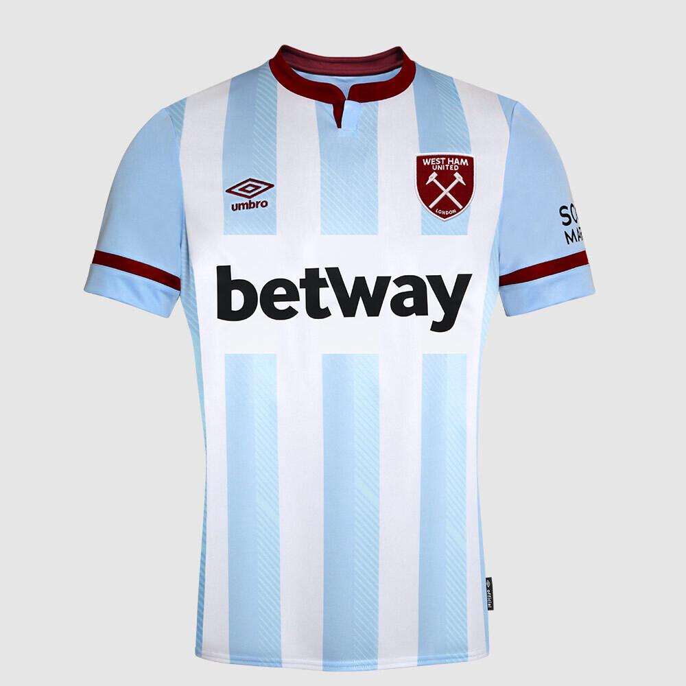 Camisa West Ham Away 2021/2022 Torcedor