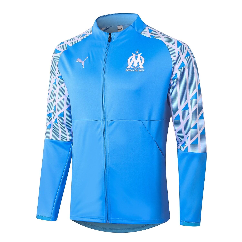 Jaqueta agasalho  Olympique de Marseille 2021 Puma