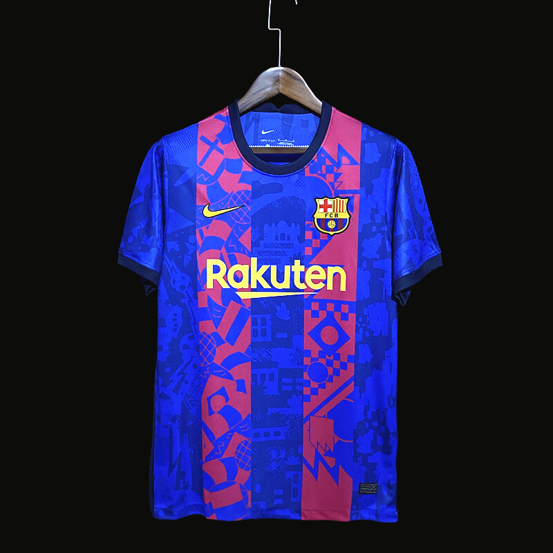 Camisa  Barcelona 2021/2022 Nike Torcedor Uniforme 3