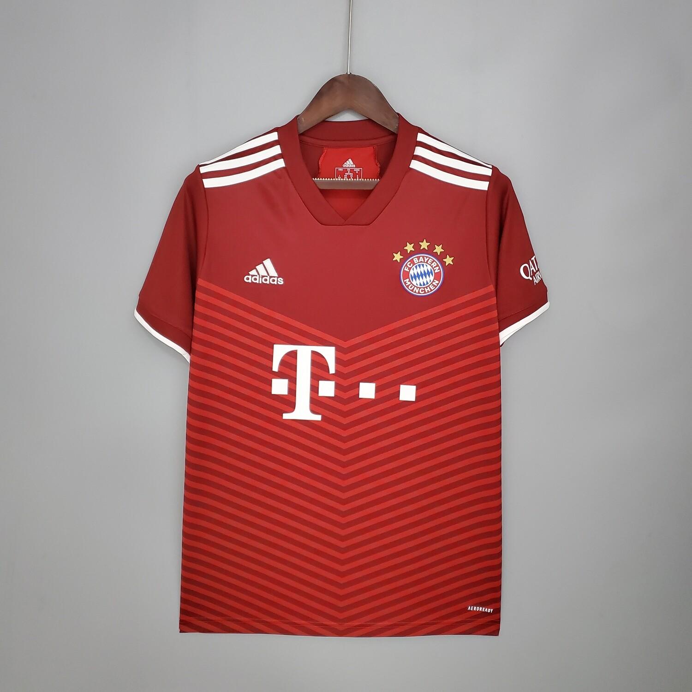 Camisa Bayern de Munique Home 2021-2022 Adidas