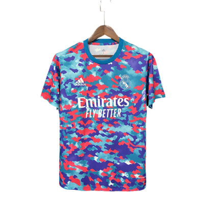 Camisa Real Madrid Pré Jogo 21/22 Adidas Masculina