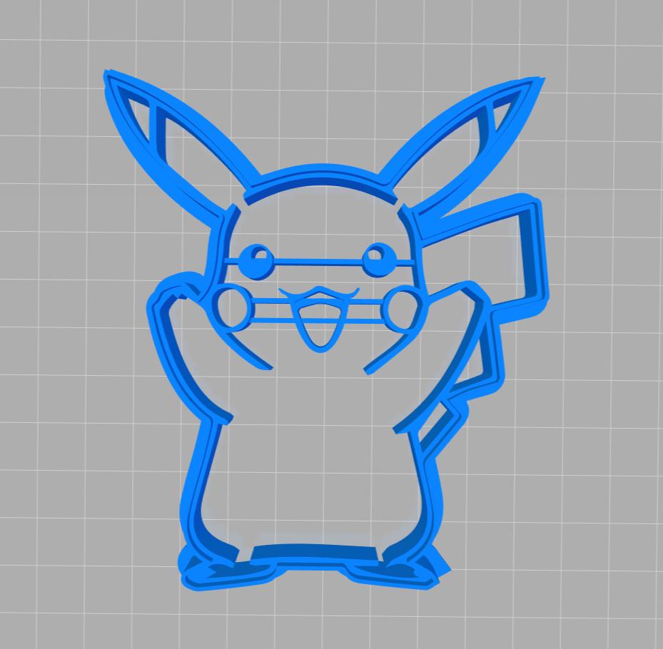 Emporte-pièce Pikachu ⚡