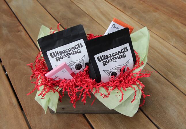Double Coffee & Double Chocolate Holiday Gift Basket