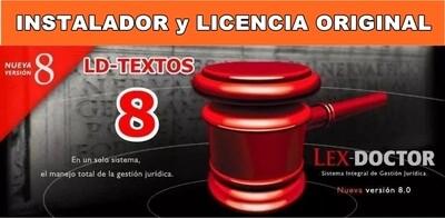 LD Textos para Lex Doctor 8 Jurisprudencia Nov 2005 para Abogados Estudios Juridicos CHAVEZ Computacion