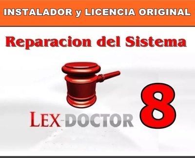 Reparacion Solucion de Problemas del Lex Doctor 8 para Abogados Estudios Juridicos CHAVEZ Computacion