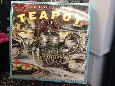 2020 Collectible Teapot and Tea Wall Calendar