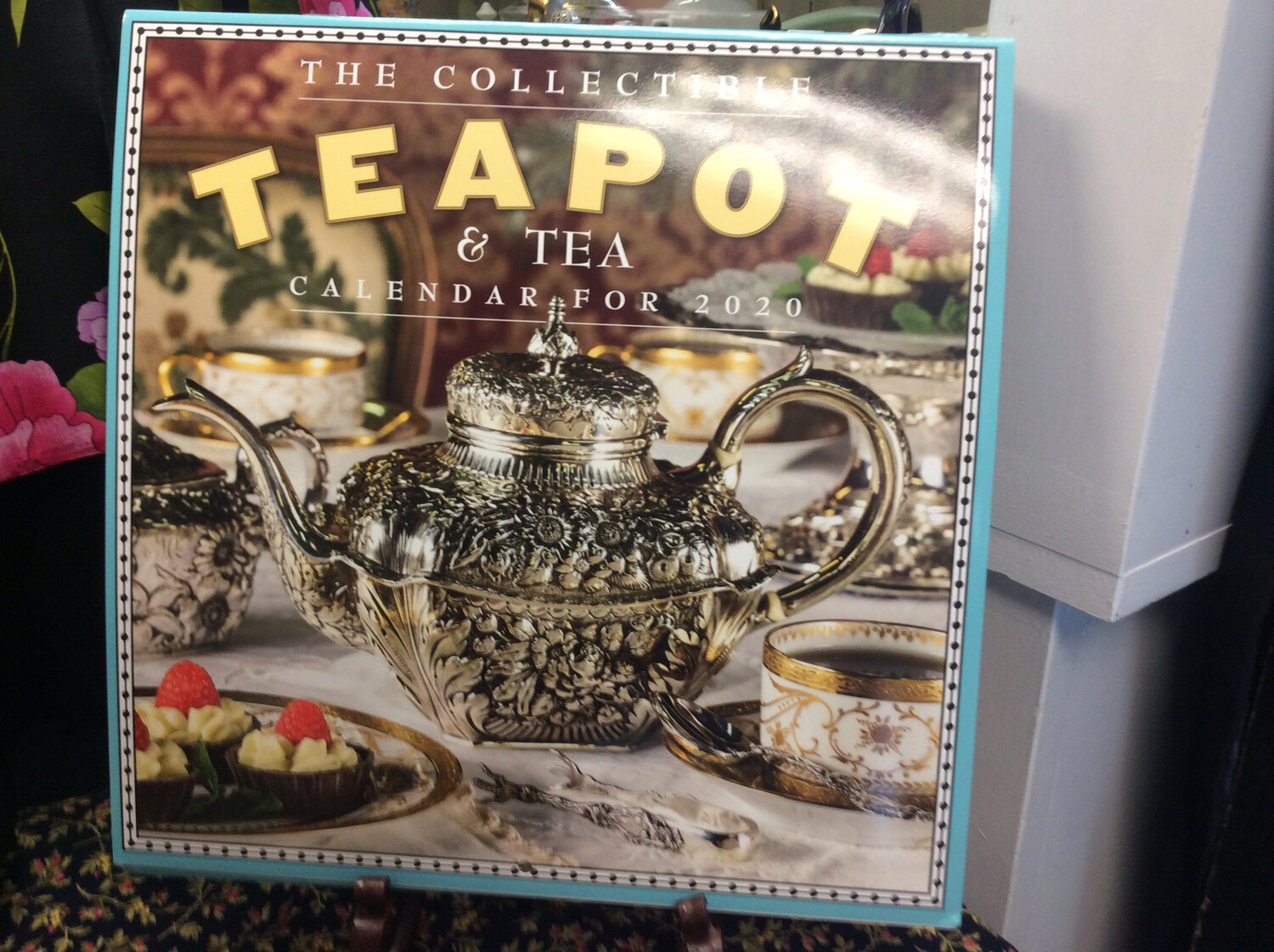 2020 Collectible Teapot and Tea Wall Calendar
