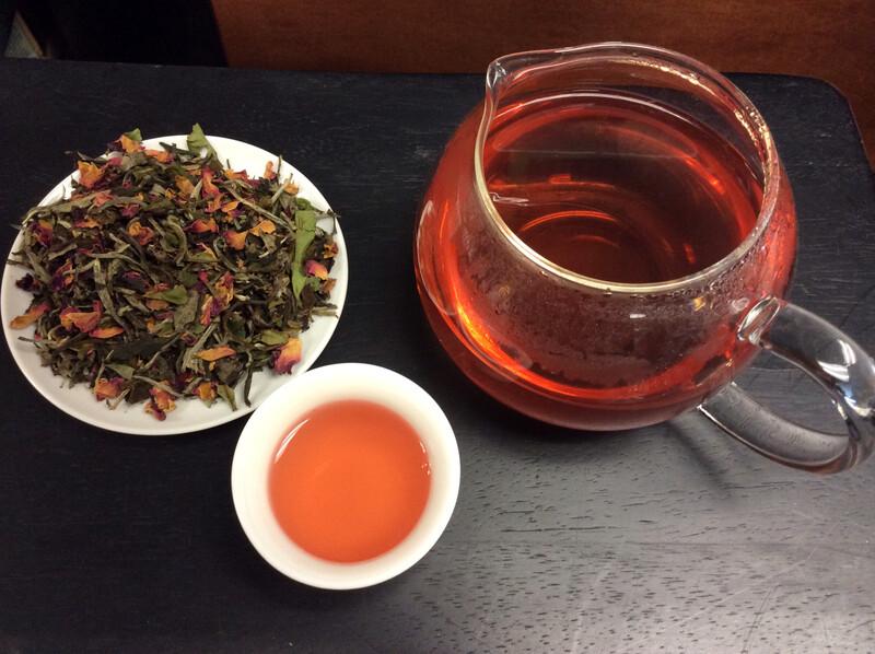 Raspberry Rose White Tea