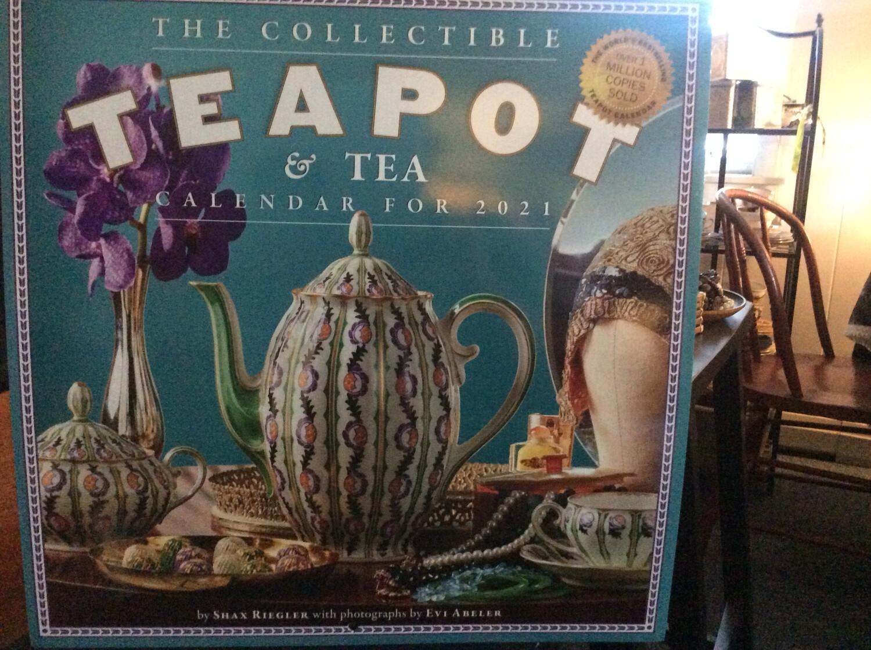 2021 Collectible Teapot and Tea Wall Calendar