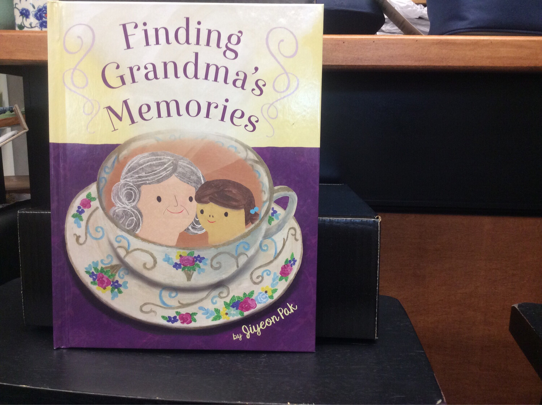 Book: Finding Grandmas Memories by Jiyeon Pak