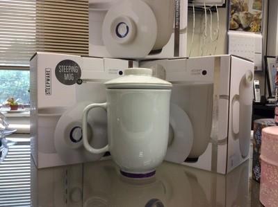Ceramic Mugs w/Infuser
