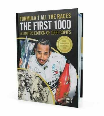 Formula 1 All The Races - The First 1000 - Limited Edition of 1000 Copies