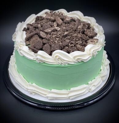 Grasshopper Ice Cream Cake