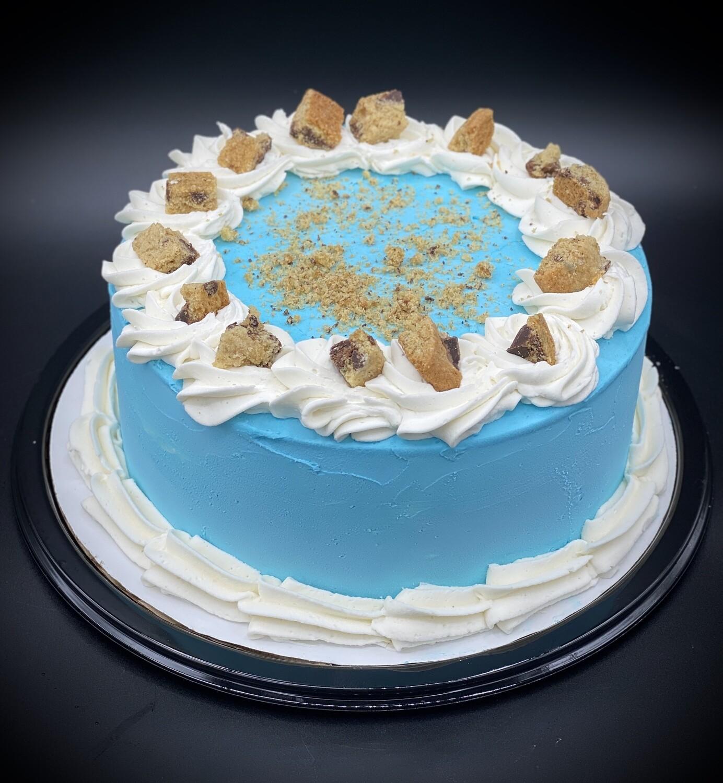 Cookie Monster Ice Cream Cake