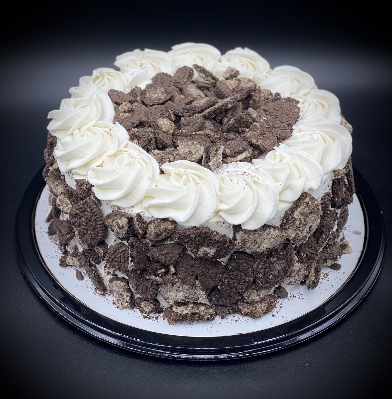 Black N White Ice Cream Cake