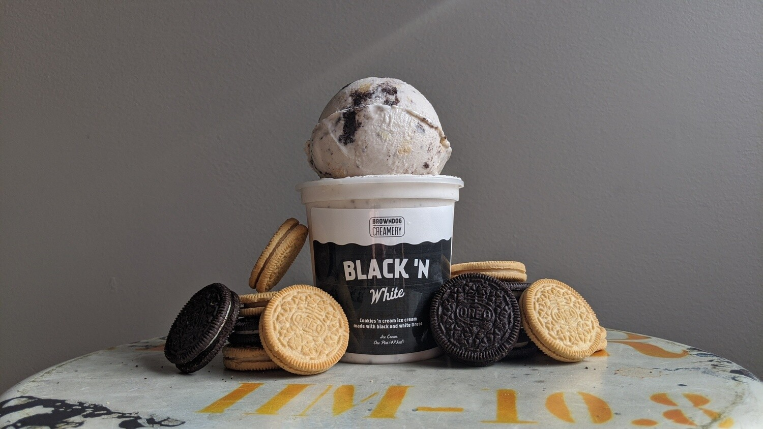 Black 'N White Ice Cream