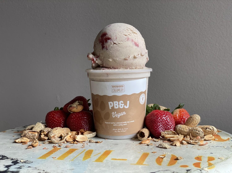 PB&J Vegan Ice Cream