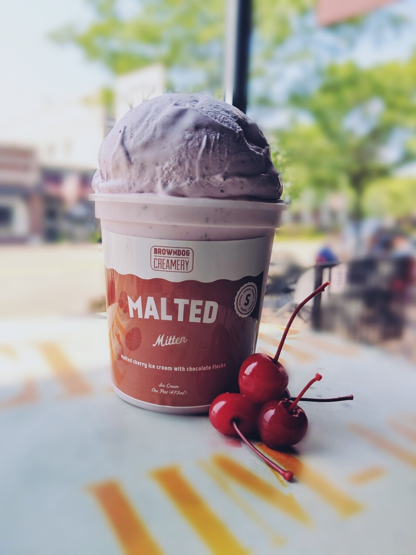 Malted Mitten Ice Cream