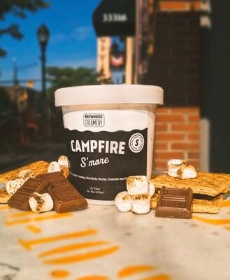 Campfire S'more Ice Cream